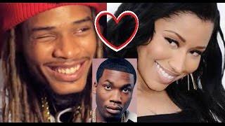 Nicki Minaj has a CRUSH on Fetty Wap & that