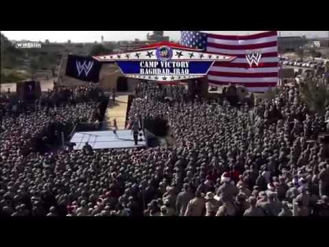 John Cena , Batista & Rey Mysterio vs. Randy Orton & Jeri-show. Tribute  to the troops 2008