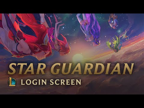 Star Guardians: Burning Bright | Login Screen - League of Legends
