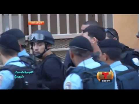 Policías se Retiran le Huyen Al PPD AGP BERNIER como Diablo a la Cruz