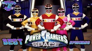 Top 5 Best  Power Rangers In Space Episodes