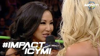 Gail Kim Slaps The Taste Out Of Taryn Terrell's Mouth | #IMPACTICYMI Oct 12, 2017