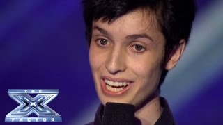 Joseph Tolve Channels Judge Demi! - THE X FACTOR USA 2013