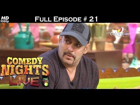 Comedy Nights Live - 2nd July 2016 - Salman Khan - Sultan - कॉमेडी नाइट्स लाइव - Full Episode HD