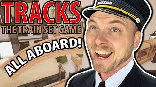 ALL ABOARD THE SQUID TRAIN!! - TRACKS THE TRAIN SET GAME!!