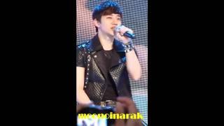[Fancam] 110407 2PM sing I Can't w/ Taec's Beatbox @ Eversense Event, Thailand