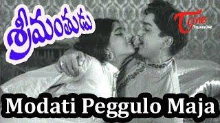 Srimanthudu Full Songs - Modati Peggulo Majaa - ANR - Jamuna