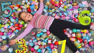 Learn Numbers Huge Surprise Eggs 1-10  for Kids! Numbers Counting to 10 with Disney Surprise Toys