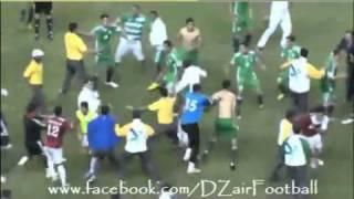 Algérie- Egypte coupe du monde militaire (bagarre)