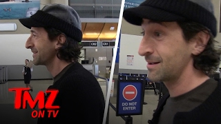Adrien Brody Is Banned From SNL?! | TMZ TV