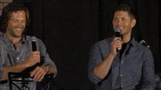 Jensen Ackles and Jared Padalecki Main Full Panel Chicon 2017 Supernatural