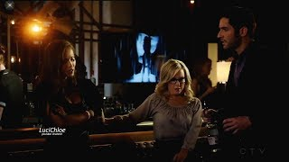 Lucifer 3x03 Opening  Scene Maze Lucifer Linda Drinking in Club Season 3 Episode 3 S03E03