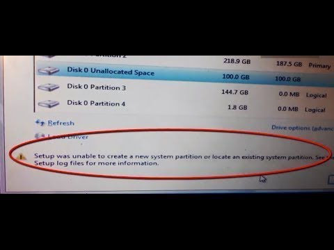 Xxx Mp4 Solved Setup Was Unable To Create A New System Partition 3gp Sex