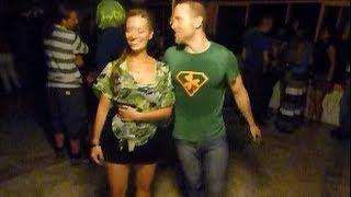 Dancing Salsa Caleña like an Irishman.