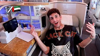 MY INSANE $15,000 AIRPLANE SEAT!! (I
