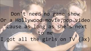 The Vamps - Girls on TV (with Lyrics)