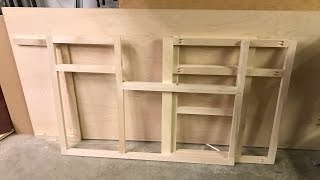 Wood working kitchen cabinets part 1 (face frame)DIY