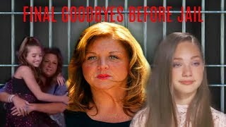 ABBY LEE MILLER saying goodbye before GOING TO JAIL - THE FINAL MINUTES