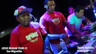 Presentación de Principal, Rudeboy, Yosi y El Ivis en el Jesus Reggae