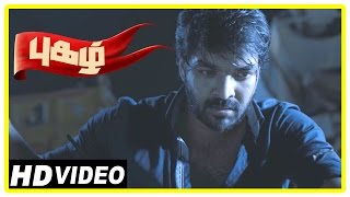 Pugazh Tamil Movie | Scenes | Marimuthu Attacks Jai in Festival | Karunas Attacked | Surabhi