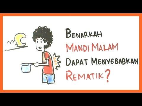 Benarkah Mandi di Malam Hari dapat Menyebabkan Rematik? #Indonesiamakincerdaas