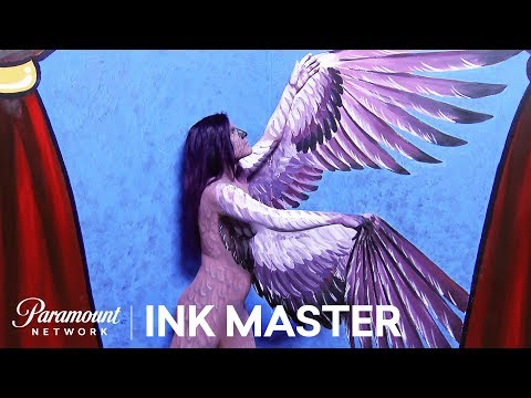Xxx Mp4 Nude Hued Flash Challenge Preview Ink Master Shop Wars Season 9 3gp Sex
