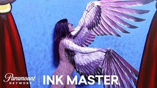 'Nude & Hued' Flash Challenge Preview | Ink Master: Shop Wars (Season 9)