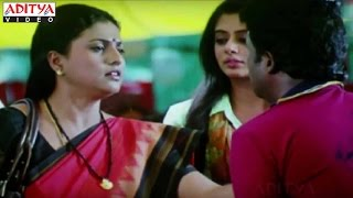 Priyamani And Roja Comedy Scene With Satyam Rajesh - Golimaar Hindi Movie