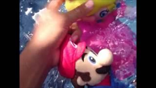 Mario and Luigi go to Peaches Pool Party
