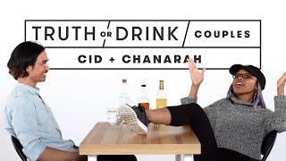 Couples Play Truth or Drink (Chanarah & Cid)   Truth or Drink   Cut