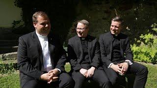 Unsere drei Jungpriester - Priesterweihe in Passau 2017