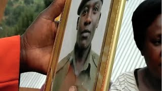 Family of Recce squad officer killed in the Kapenguria attack remains inconsolable