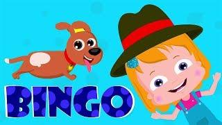 Bingo das Hundesong | Reime für Babys | Kinderlieder | Nursery Rhymes | Bingo The Dog Song