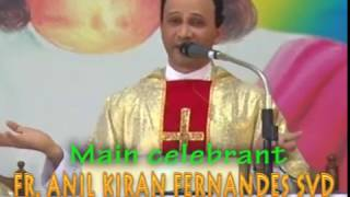 Holy Eucharist celebrated by Fr.Anil Fernandes at DCC on 24-12-2016