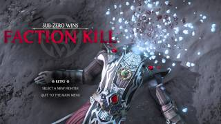 MORTAL KOMBAT X -  ALL LIN KUEI FACTION KILLS