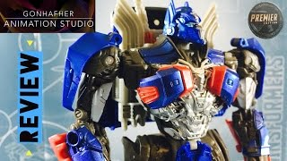 Transformers the last knight Optimus Prime Premier Edition-Review