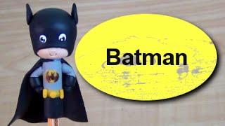 Batman ( Ponteira de Lápis ou Caneta)