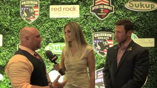 Jay Glazer & Nate Boyer Interview - Gridiron Greats - Las Vegas