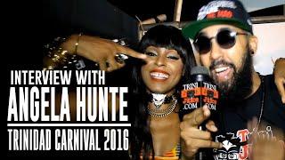 Angela Hunte Interview - Machel Monday 2016