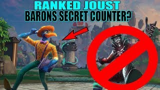 THOTH: SECRET COUNTER TO BARON?! Ranked Joust -SMITE