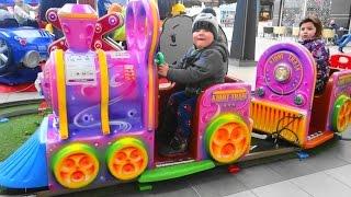Kids Playground - Kiddy train for kids children toddlers baby