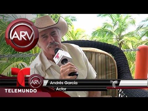 Andrés García perdió la movilidad de su cuerpo | Al Rojo Vivo | Telemundo