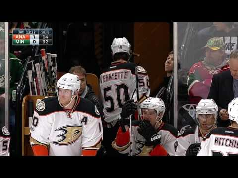 Gotta See It Vermette gets game misconduct for Abuse of Officials