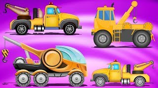 Police Tow Truck | Formation And Uses | Cartoon Videos For Children