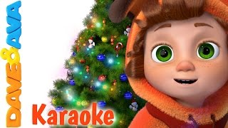🎁 We Wish You a Merry Christmas - Karaoke! |Christmas Songs for Kids from Dave and Ava Baby Songs🎁