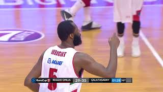 Play of the Game - Grissin Bon vs Galatasaray (19/10/17): Julian Wright (and throwback Kris Clack)