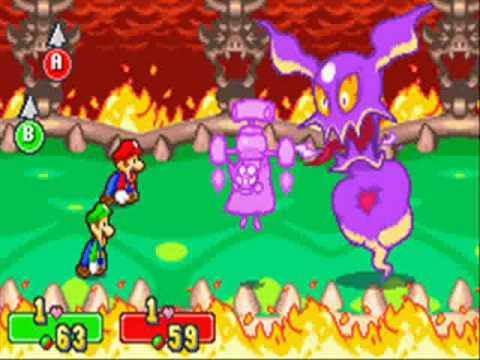 Mario & Luigi Superstar saga Bosses no damage part 5