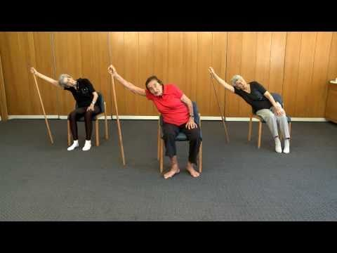 Senior Fitness - 99 year old keep fit teacher - Lesson 1