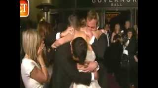 Jennifer Lawrence Swarmed by Family After Oscar Win