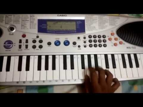 BAHUBALI THEME SONG  ON KEYBOARD WITH NOTES